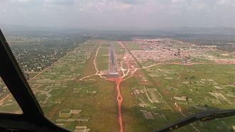 Bangui M'Poko International Airport - The Runway