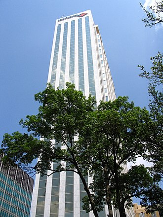 Midland, Texas - The Bank of America Building is Midland's tallest building.