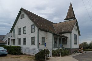 National Register of Historic Places listings in Ventura County, California - Image: Bardsdale United Methodist Church 2014 02