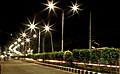 Barisal City at night.jpg