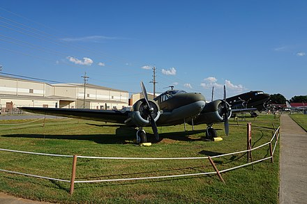 C-45F at the Barksdale Global Power Museum Barksdale Global Power Museum September 2015 18 (Beechcraft C-45F Expeditor).jpg