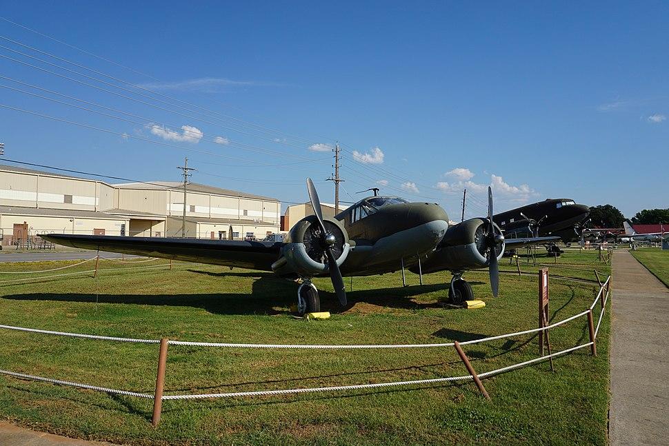 Barksdale Global Power Museum September 2015 18 (Beechcraft C-45F Expeditor)