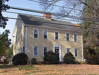 National Register of Historic Places listings in Southington, Connecticut - Image: Barnes Frost House