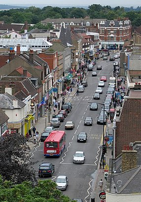 How to get to High Barnet with public transport- About the place