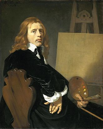 Paulus Potter - Portrait of Paulus Potter (1654) by Bartholomeus van der Helst