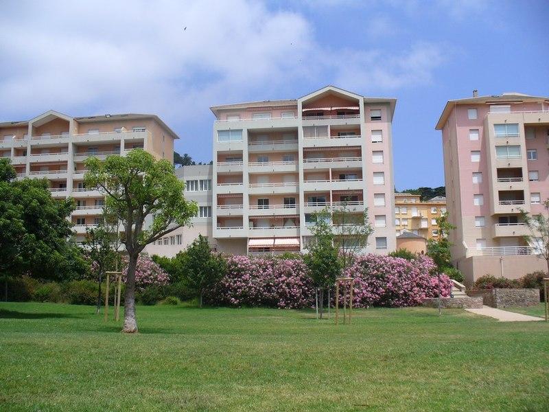 Bastia - le jardin