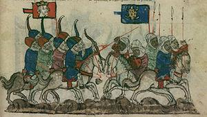 Battle of Köse Dağ - Image: Bataille de Közä Dagh (1243)