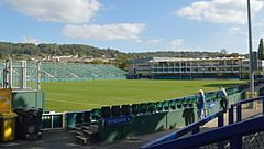 "Stadion Bath Rugby, popularny ""The Rec"""