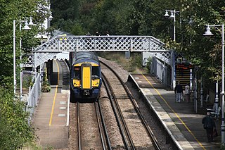 Hastings line Railway line in Kent and East Sussex, England