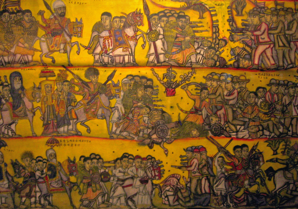 Battle of Adwa tapestry at Smithsonian 2