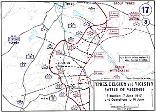 Battle of Messines (1917) offensive conducted by the British Second Army