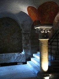 Cripta de la catedral de Bayeu