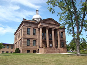 Bayfield County, Wisconsin - Image: Bayfield County WI Courthouse