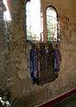 Bazentin (chapelle du cimetière) céramique de Maurice Dhomme 04.jpg