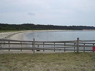 Kiptopeke State Park - Beach and ocean at Kiptopeke State Park