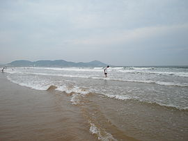 Beach of Jinsha,Qingdao.JPG