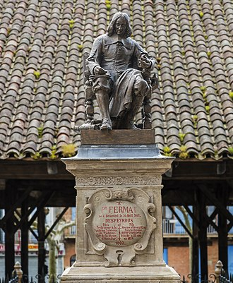 Pierre de Fermat - Monument to Fermat in Beaumont-de-Lomagne