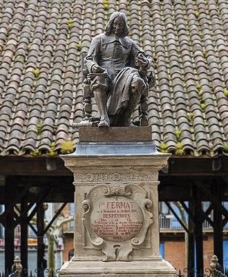 Beaumont-de-Lomagne - Image: Beaumont de Lomagne Monument à Fermat