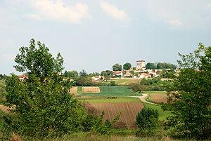 Beauregard-l'Évêque - General view of the village