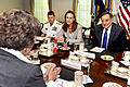 Bech Panetta discussions August 2011.jpg