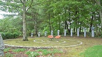 Bedrock Gardens - Image: Bedrock Garden's Spiral Garden