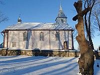 Beižionių bažnyčia, kryžius.JPG