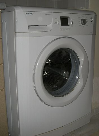 English: Beko Washing Machine. Türkçe: Beko Ça...