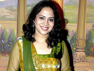 Bela Shende Indian singer of Bollywood and regional films