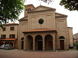 Church of the Holy Heart in Bellaria.