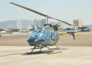 Ecuadorian Air Force - A Bell 206 Jet Ranger