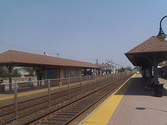Belmar, New Jersey - Belmar station, which is served by NJ Transit's North Jersey Coast Line