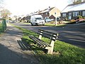 Bench in Scratchface Lane - geograph.org.uk - 753469.jpg