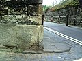 Benchmark at junction of New College Lane and Queens Lane - geograph.org.uk - 2032571.jpg