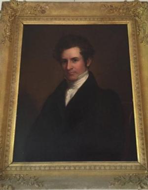 Benjamin Ogle Tayloe - Portrait of Benjamin Ogle Tayloe by Thomas Sully