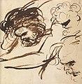 Benjamin Robert Haydon - Head Studies - B1977.14.2548 - Yale Center for British Art.jpg