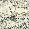 Berezhnytsia, 1910—1916, map.jpg