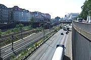 Berliner Stadtring A100 am Kaiserdamm