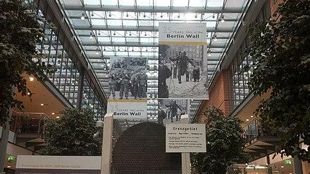 wo genau verlief die berliner mauer
