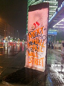 Berlin Wall Potzdamer Platz Next Wall to Fall is Wall Street.jpg