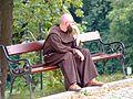 Bernardyn z klasztoru w Kalwarii Zebrzydowskiej.JPG