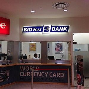 Bidvest Bank - A photograph of a Bidvest Bank branch in Cape Town, South Africa.