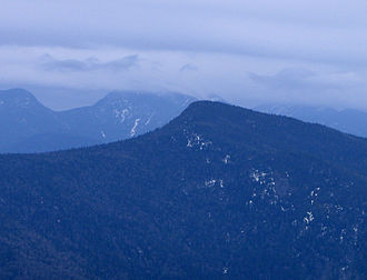 Adirondack High Peaks - Big Slide Mountain from Cascade Mountain