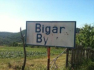 Berzasca - Image: Bigar village