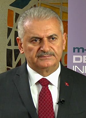 Turkish local elections, 2019 - Image: Binali Yıldırım headshot