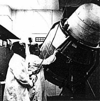Biosatellite program - Image: Biosat 1