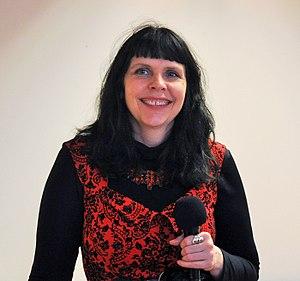 Birgitta Jónsdóttir - Image: Birgitta Jónsdóttir 2015