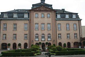 Birstein - Birstein Castle, park front