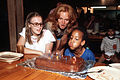 Birthday cake at Camp La Junta, circa 1980 · DF-ST-82-08385.jpg