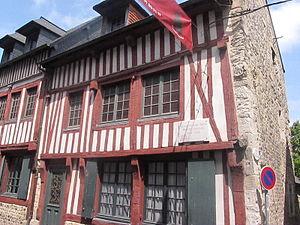 Allegro (Satie) - Satie's birthplace in Honfleur, now a museum