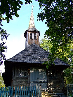 Wooden Church in Bocşiţa